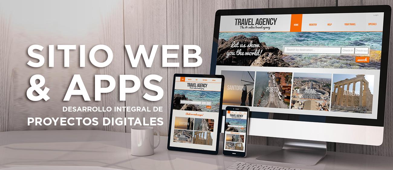 Sitio Web & Apps